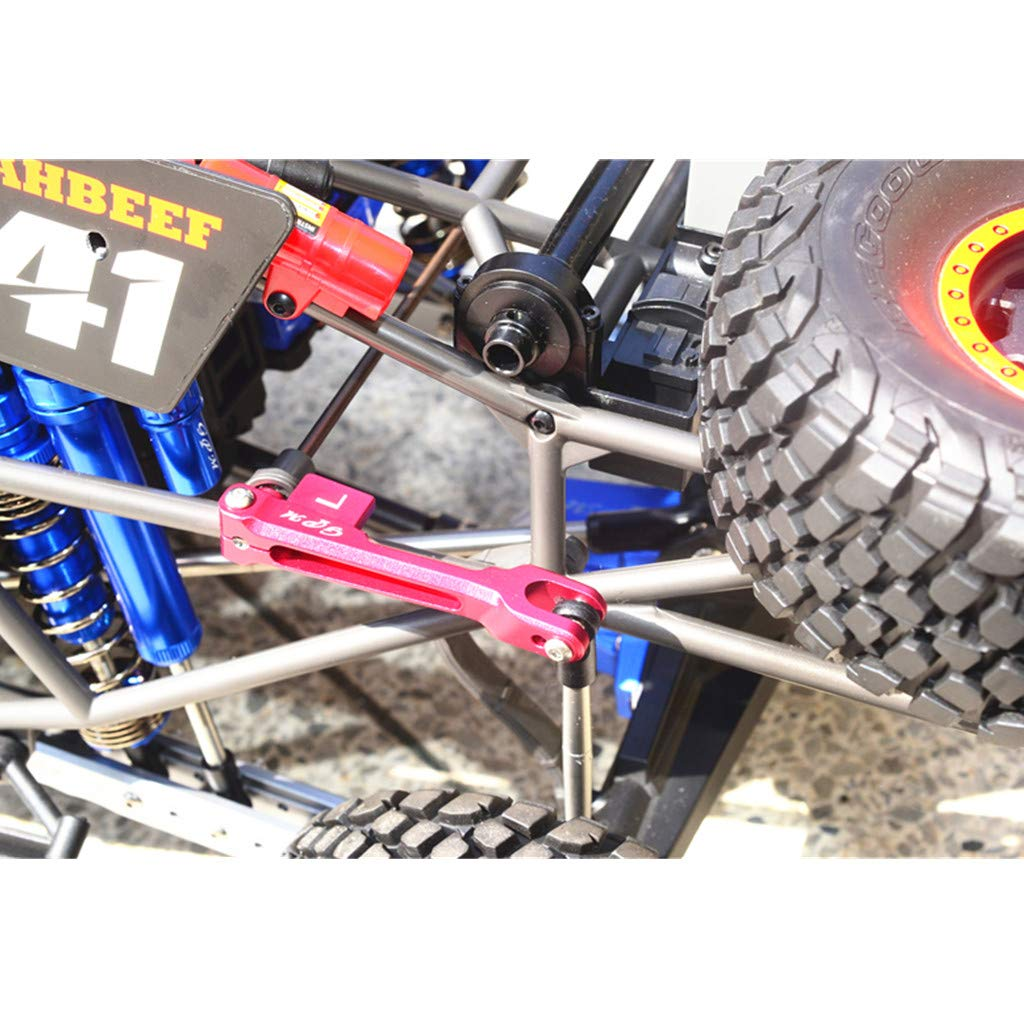 Make Your RC Car More Cool and Attractive Rear Sway Bar /& Sway Bar Arm /& Linkage Set for TRAXXAS UDR S2 Eve.Ruan GPM Metal Front