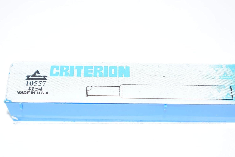 Criterion 1454 10557 Carbide Tipped Boring Bar USA Threading Tool