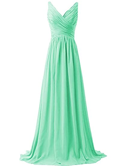 Lisianthus002 Womens Long Formal Wedding Gown Bridesmaid Dress 8 Mint