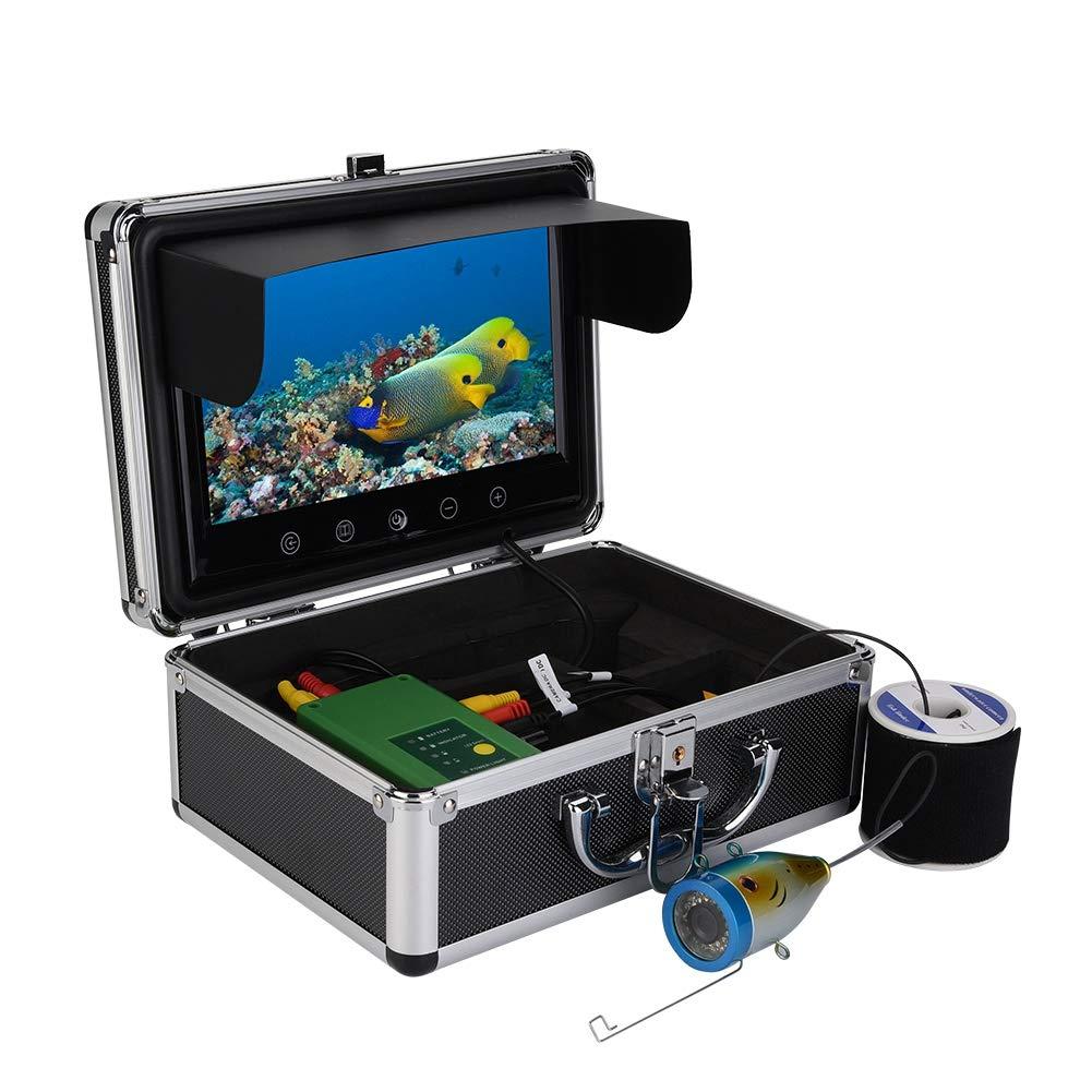 水中ビデオカメラ VBESTLIFE B07L2TGD8Y 水中 魚群探知機 フィッシュファインダー HD HD 1000TVLメガピクセル 魚群探知機 耐寒性 防水性 耐引裂性 15個LED搭載 暗視 釣りの必需品 USプラグ B07L2TGD8Y, コダマグン:60ec5f17 --- tandlakarematspetersson.se