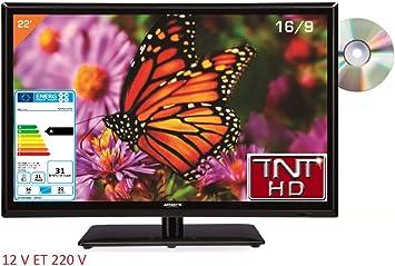 Televisión TV + DVD LED 21.6