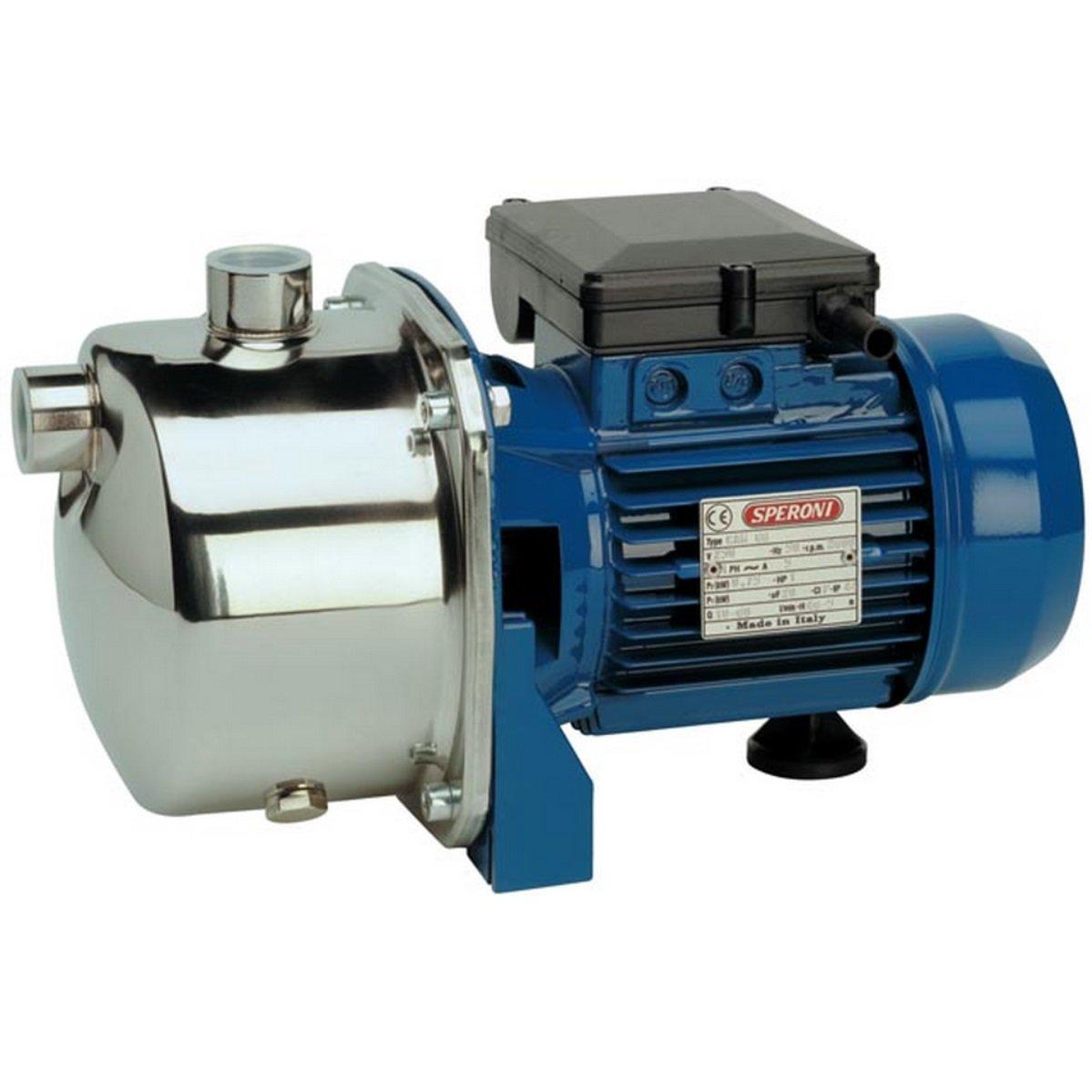 Sporen–Elektropumpe selbstansaugend Cam 88Edelstahl 0.75KW Pumpe 220Volt einphasig
