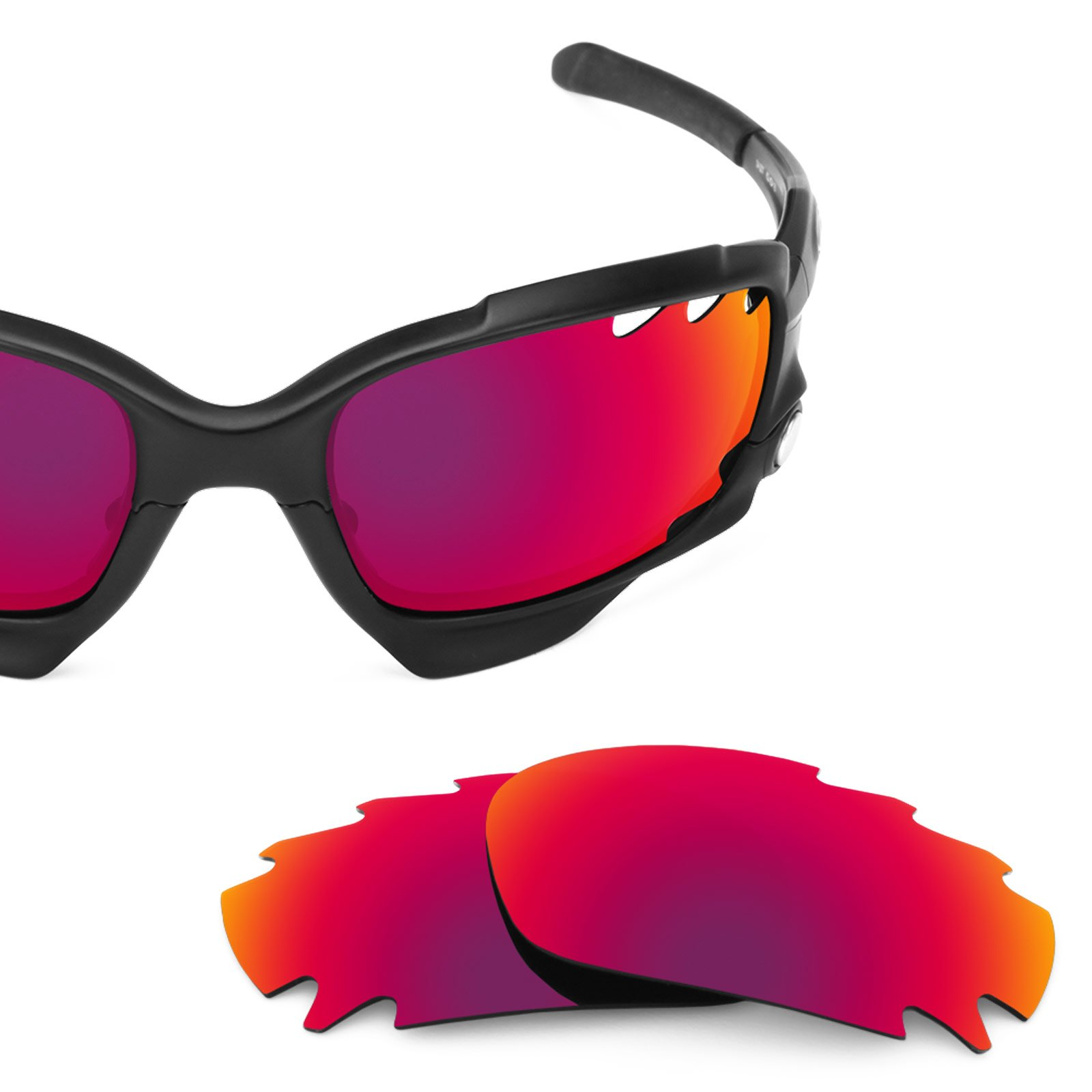 Revant Vented Polarized Replacement Lenses for Oakley Jawbone Midnight Sun MirrorShield