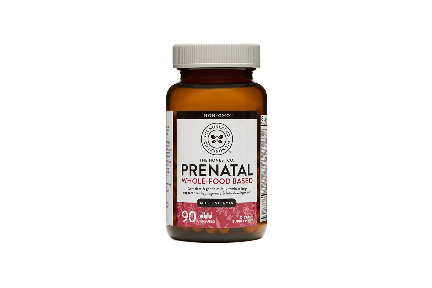 The Honest Company Whole-Food Based Prenatal, 90 Count