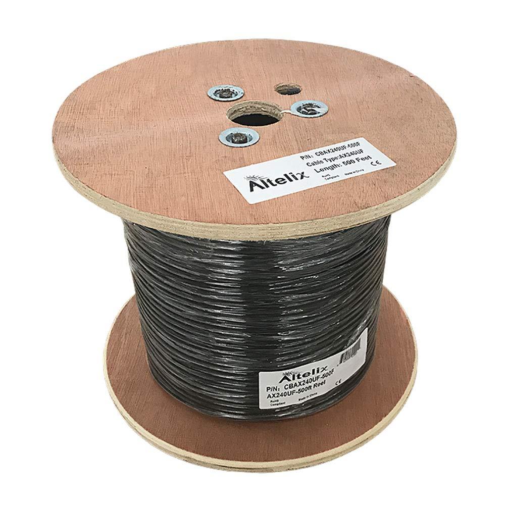 altelix ax240uf 240 Ultra Flex Cable Coaxial de baja pérdida ...