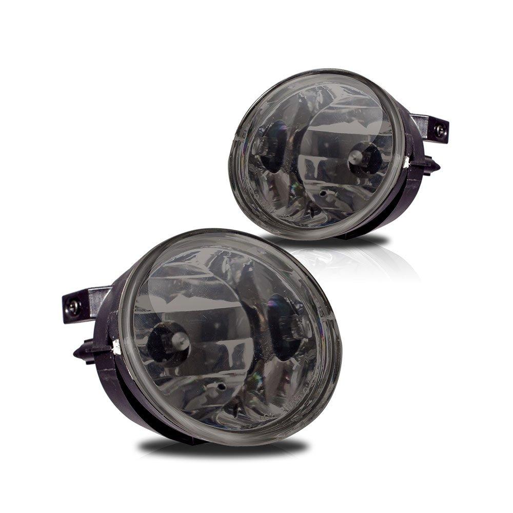 Winjet WJ30-0091-11 Smoke Lens Fog Light (Nissan Armada/Titan)