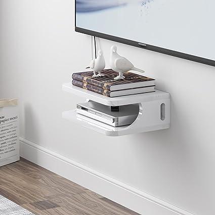 HAKN Set-top box mensola TV pensile per soggiorno scaffali a muro ...