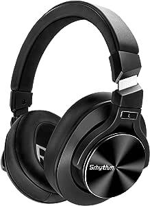 Auriculares Inalámbricos con Cancelación Activa de Ruido Bluetooth 5.0 - Srhythm NC75 Pro con Micrófono CVC8.0, Carga Rápida, Hi-Fi, 40+ Horas de ...