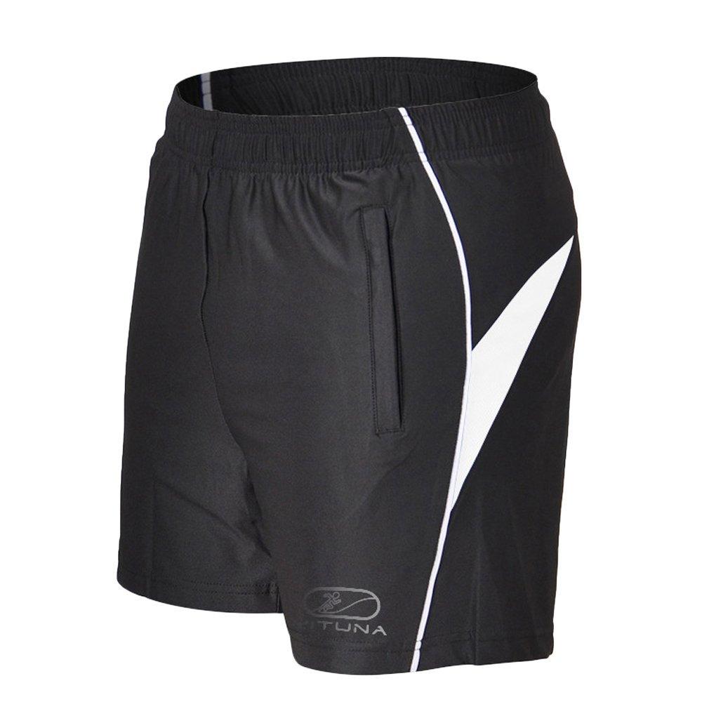 BALEAF Mens 7 Inches Athletic Running Shorts Quick Dry Mesh Liner Zip Pocket
