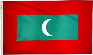 product image for Annin Flagmakers Model 195351 Maldives Flag 3x5 ft. Nylon SolarGuard Nyl-Glo 100% Made in USA to Official United Nations Design Specifications.