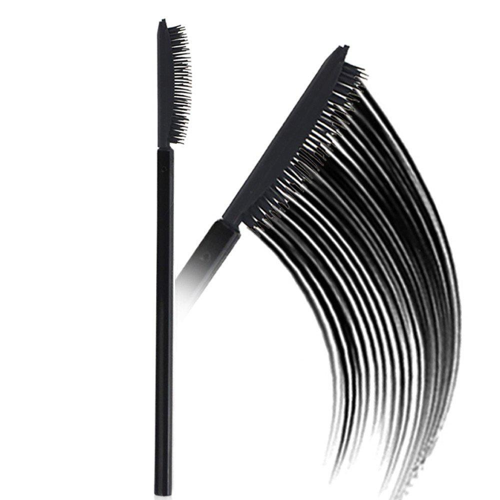 Choosebuy❤️1 PCS Eyelash Brushes, Disposable Silicone Head Mascara Wands Eyelash Brushes Lash Extention Tools Makeup Party (C)