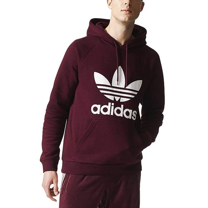adidas Originals Hoodie Trefoil Maroon