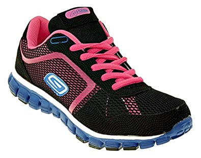 Bootsland Neon Sneaker 406 Sportschuhe Damen Turnschuhe l5uKJcT13F