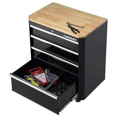 Amazon.com: Husky Steel 4-Drawer Garage Base Cabinet: Home Improvement