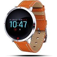 GOKOO Reloj Inteligente Mujer, Smartwatch Deporte Fitness Tracker Pulseras de Actividad Reloj de Fitness Impermeable