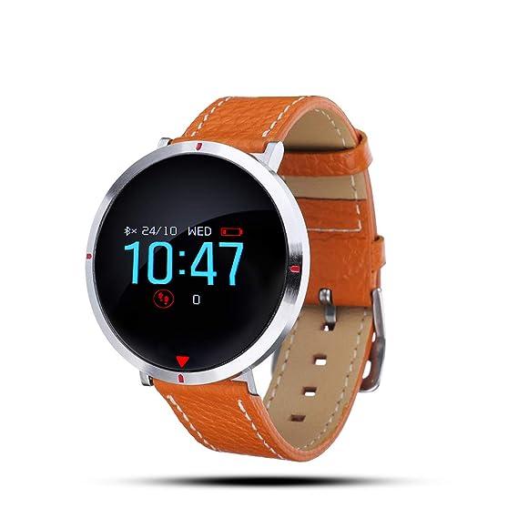 Smartwatch Impermeabile Donna, GOKOO Orologio Intelligente Donna Fitness Tracker Cardiofrequenzimetro, Bracciale Orologio, 4 Modalità di Allenamento,