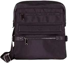 Tutilo Mens Designer Virtual Office Travel Crossbody Messenger Bag
