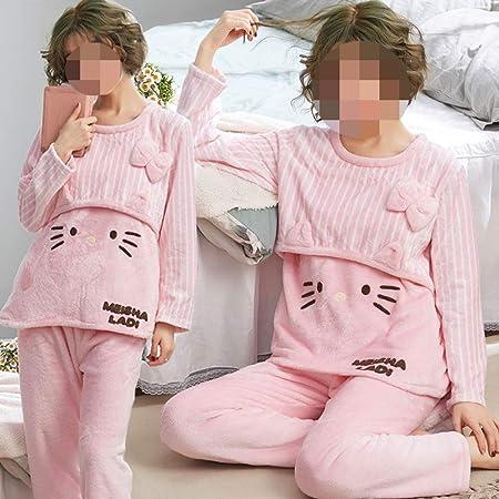JZX Pijamas de Las Mujeres Embarazadas, Invierno Más ...