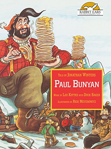 Paul Bunyan, Told by Jonathan Winters, Music by