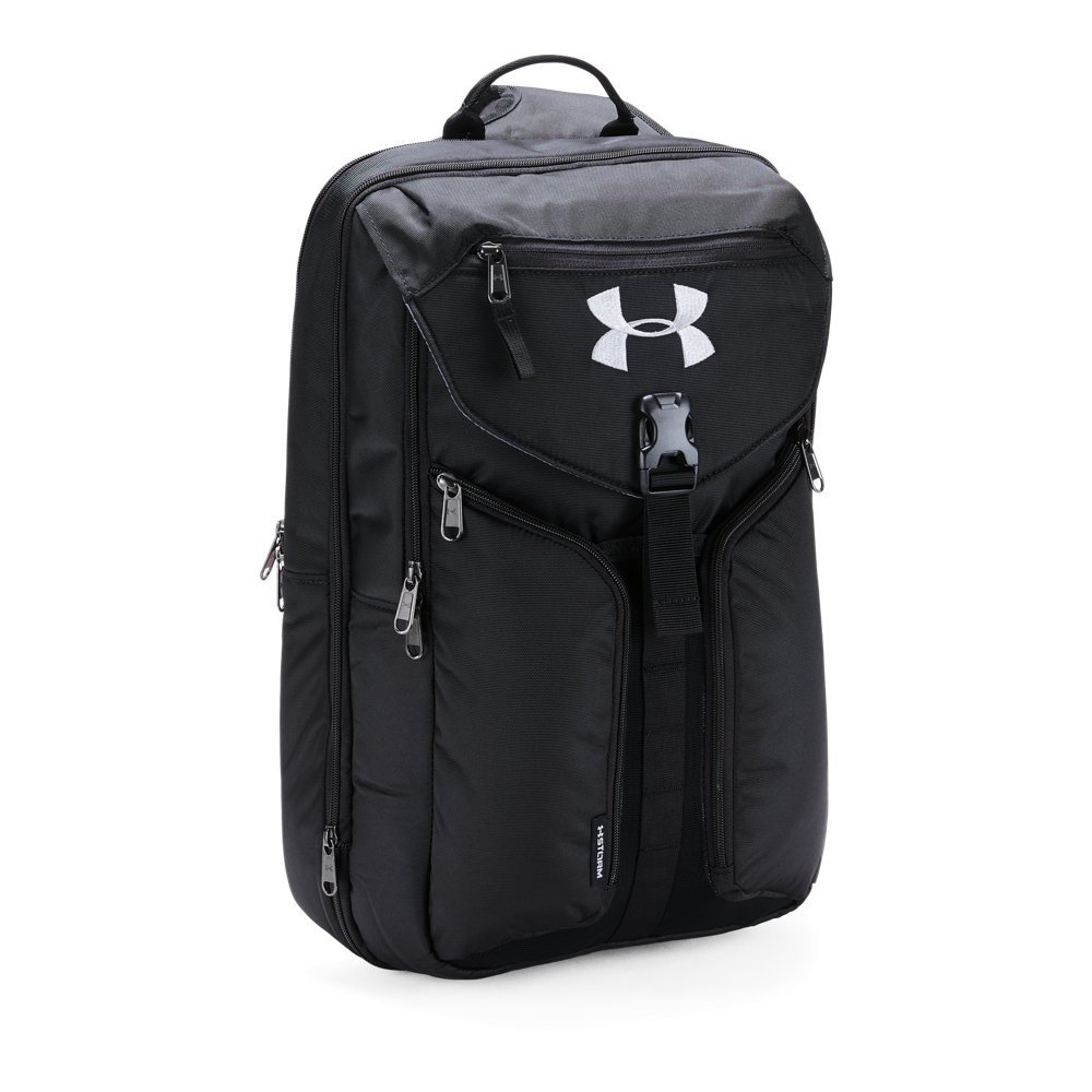 Under Armour Unisex Compel Sling 2.0, Black (001)/Silver, One Size