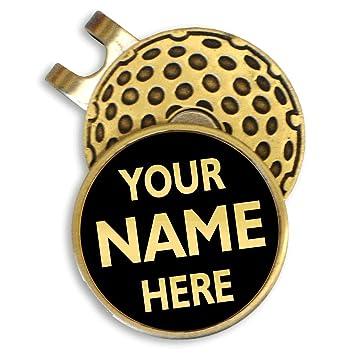 Clip personalizado para gorra de golf: Amazon.es: Deportes y ...