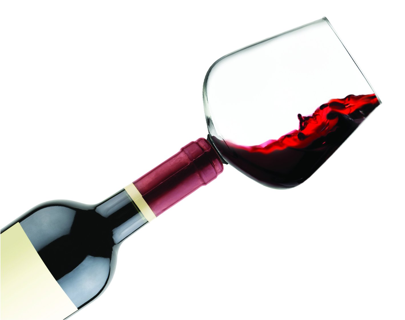 Godinger 22103 Chugmate Wine Glass Topper, the Goblet to Drink Straight from the Bottle, 8 oz, Clear by Godinger (Image #2)