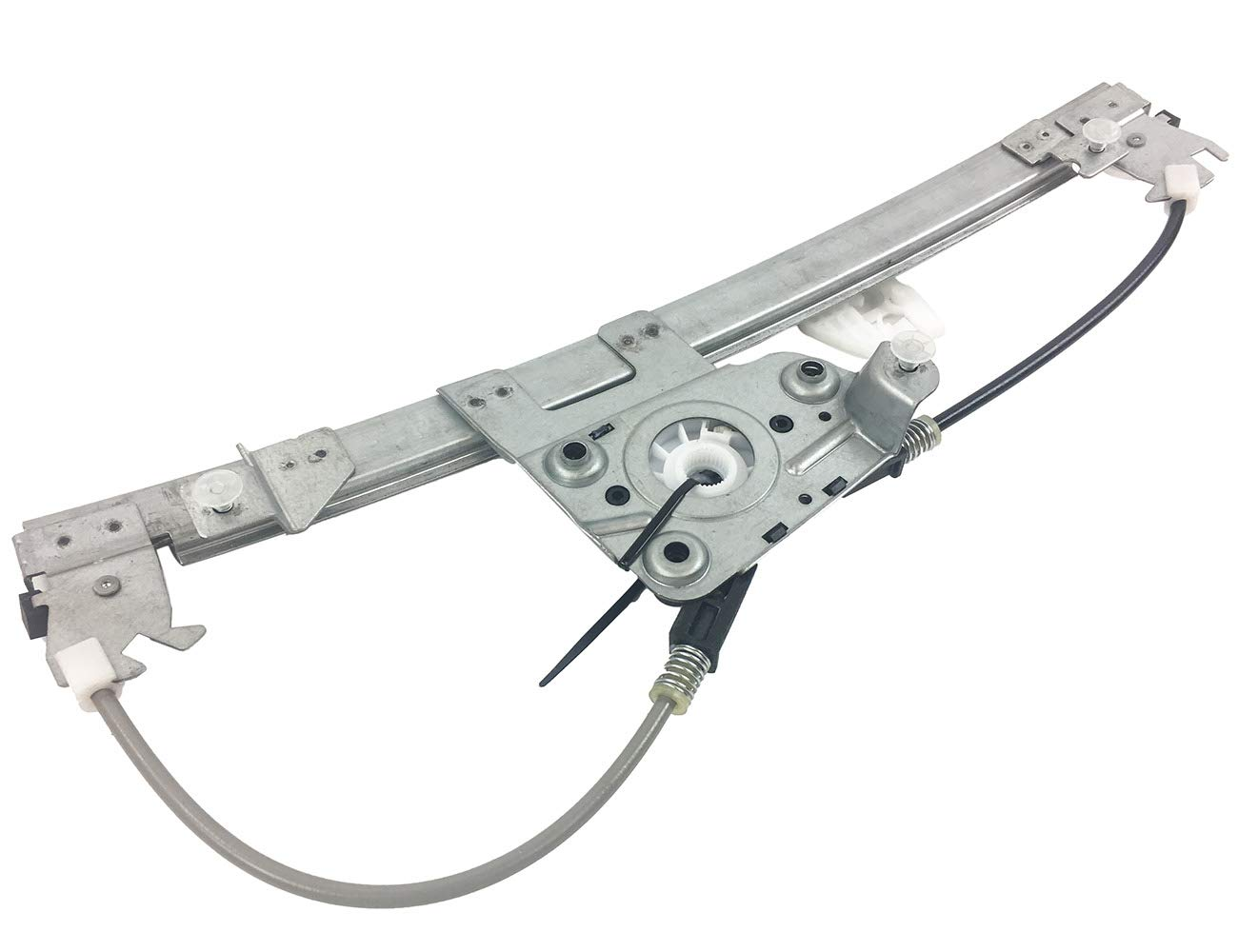 OE Replacement BMW Rear Driver Side Door Glass Regulator Partslink Number BM1550111