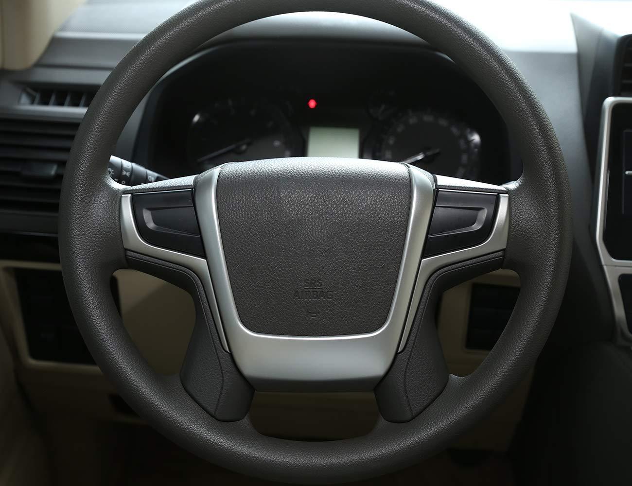 Accesorios de coche ABS Tiras de decoración para volante