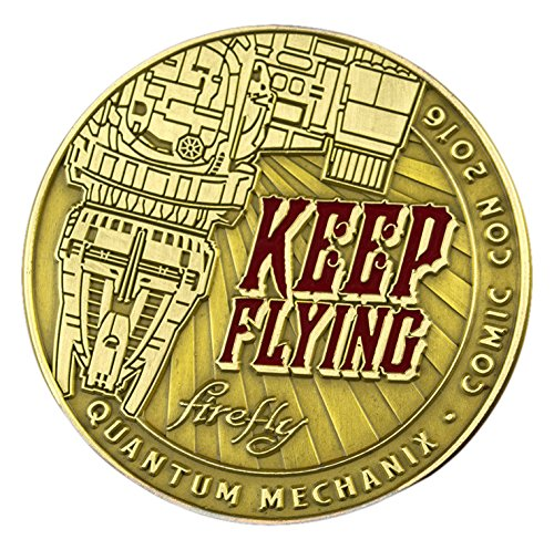 QMx Firefly Keep Flying Challenge Coin -