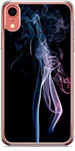 Loud Universe Case For iPhone XR Transparent Edge Smoke Print iPhone XR Cover