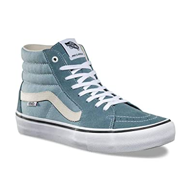 004542dea2 Vans Sk8 Hi Pro Goblin Blue White High Performance Skateboarding Shoes (7 D  US)