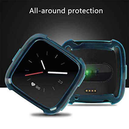 Amazon com: LtrottedJ TPU Silicone Cover Case Watch Casing
