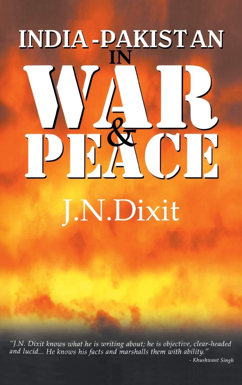 India-Pakistan in War and Peace: Amazon.es: Dixit, J. N.: Libros en idiomas extranjeros