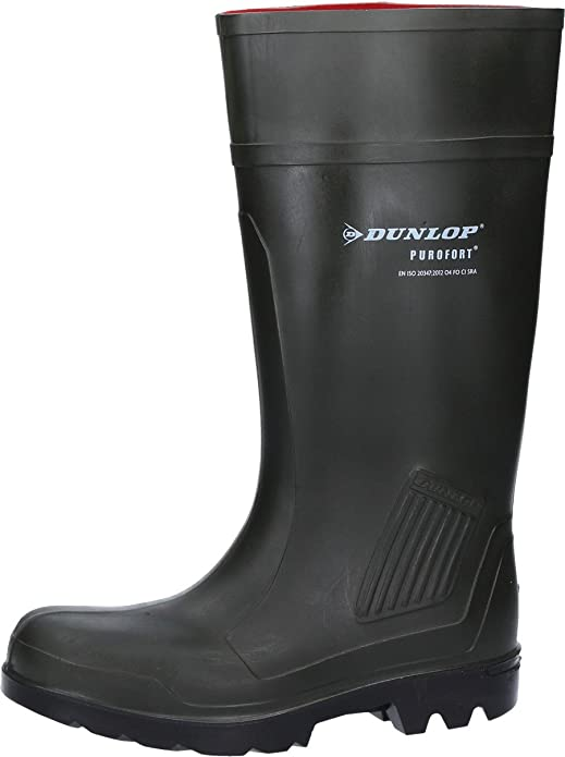 TALLA 41 EU. Dunlop Pull-On Self-Lined Wellingtons - Green - Size 39 40 41 42 43 44