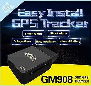 Tracker Localizador gps de satélites de diagnóstico a bordo DAB para coche camión instalación rápida.: Amazon.es: Electrónica