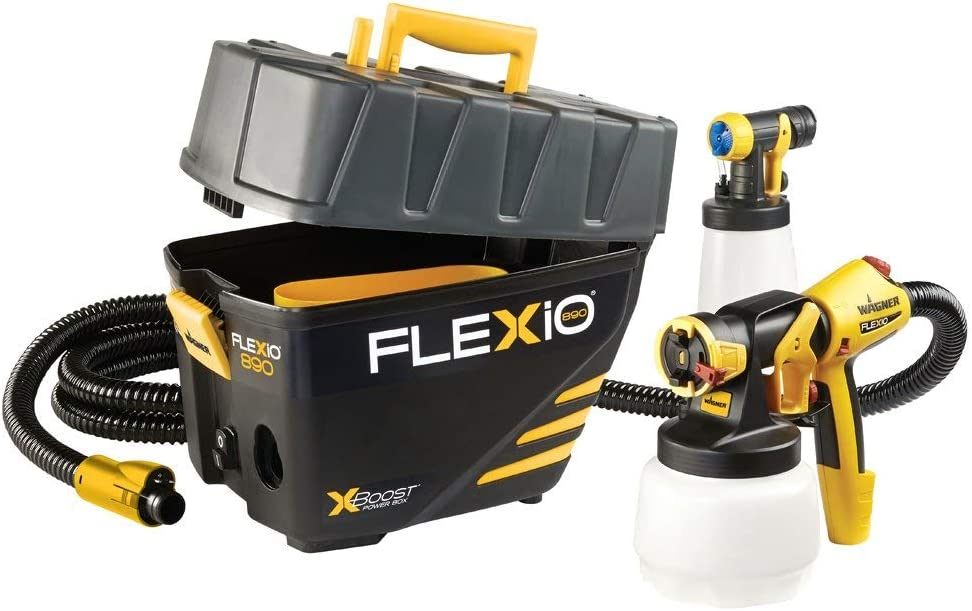 Wagner 0529021 Flexio 890 HVLP Paint Sprayer Station Review