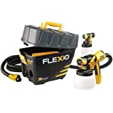 Wagner 0529021 FLEXiO 890 Stationary HVLP Paint Sprayer, Sprays Unthinned Latex, Includes two Nozzles, iSpray Nozzle and…