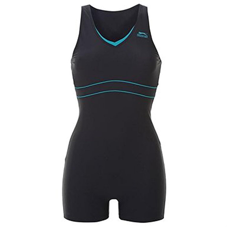 Slazenger Große Größen Marken - Badeanzug mit Bein bis Größe 56 (8XL) / Schwimmanzug / Einteiler XXXL XXXXL XXXXXL XXXXXXXL XXXXXXXXL