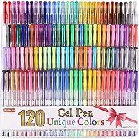 Shuttle Art 120 Unique Colors (No Duplicates) Gel Pens...