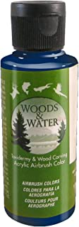 product image for Badger Air-Brush Co. 4-Ounce Woods and Water Airbrush Ready Water Based Acrylic Paint, Navy Blue