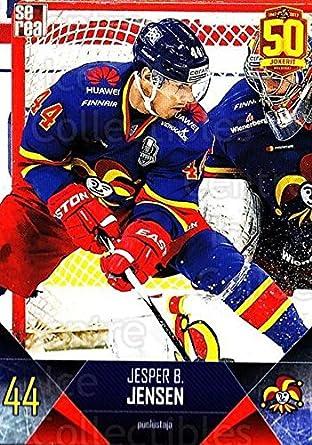 Amazon.com  (CI) Jesper Jensen Hockey Card 2017-18 Finnish Jokerit Helsinki  Sereal B10 Jesper Jensen  Collectibles   Fine Art d2e01fc8b17