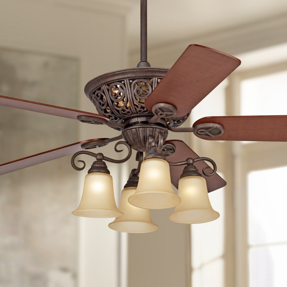 52 costa del sol scroll ceiling fan amazon mozeypictures Choice Image