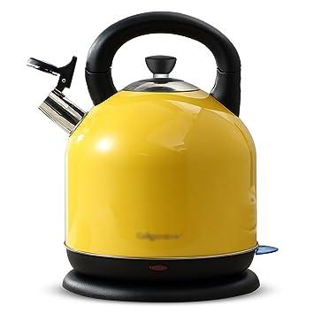 wasserkocher gelb