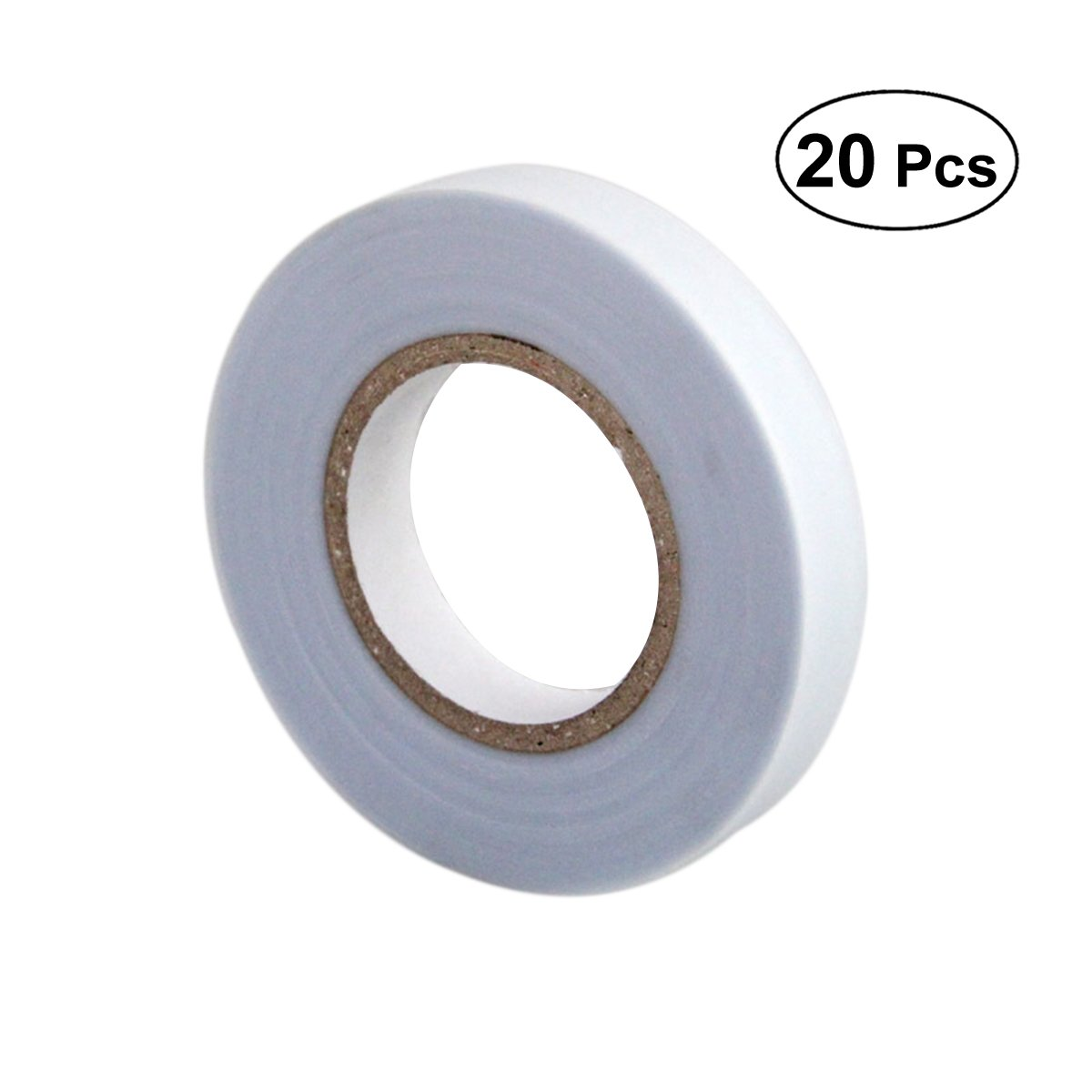 Yardwe Thick Stretch Tie Tape Adjustable Garden Tie Tape for Planting(White)