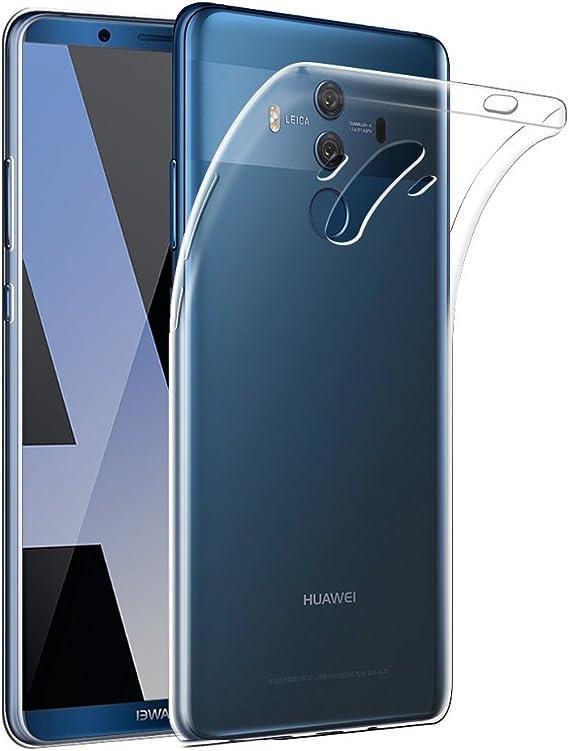Gosento Funda Huawei Mate 10 Pro, Funda Carcasa Bumper Case Mate 10 Pro Silicona Gel TPU Slim Silicona Carcasa para Huawei Mate 10 Pro (Transparente): Amazon.es: Electrónica