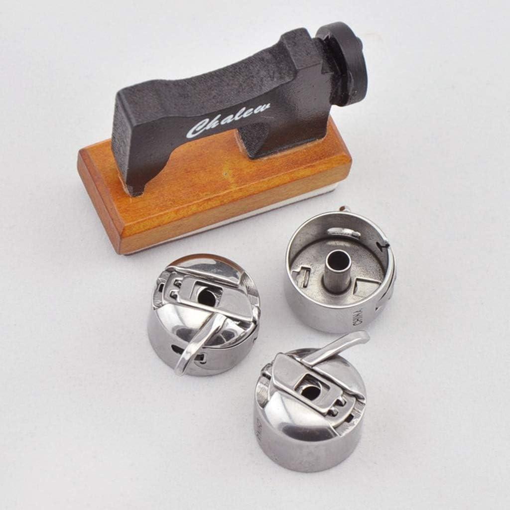 1 Spulenkoffer Set Industrien/ähmaschine 6 St/ück 5 Spule XUNXI Spule