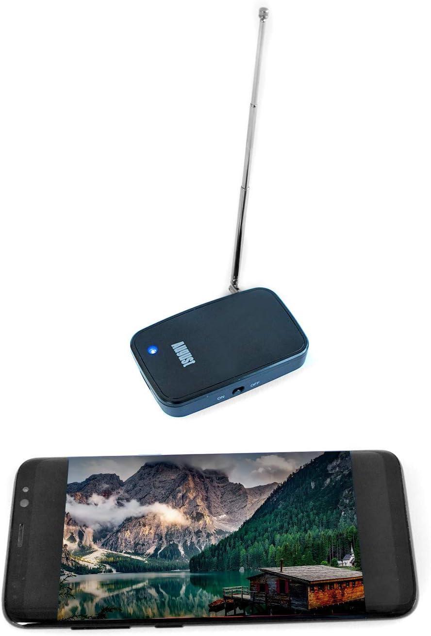 August DVB-T405 Sintonizador de TV para iOS&Android para Ver TV en ...