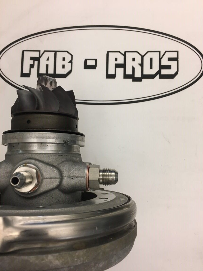 Amazon.com: Coolant Fitting Flange Borg Warner Turbo EFR Turbos 6258 6758, 7163 -> -6AN STRAIGHT FT: Automotive