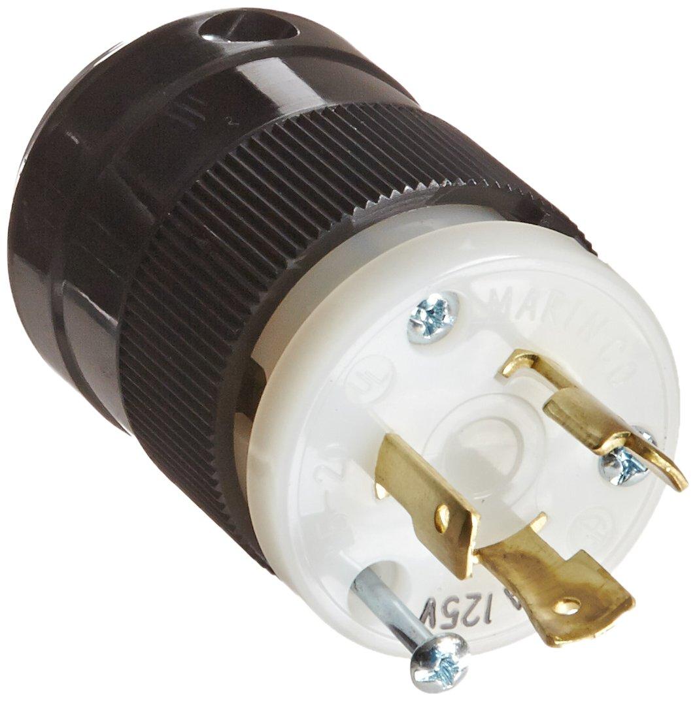 Marinco 205C 20 Amp 125 Volt Locking Connector Twist Lock Plug New Made in USA