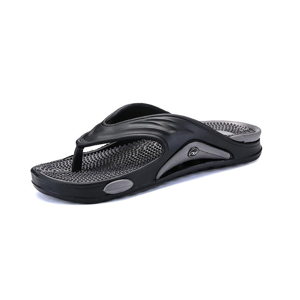 CJC Men's Shoes Beach Shoes Comfortable Wear-Resistant Casual Drive Outer Outer Drive Wear Non-Slip Personality Fashion Soft Bottom Breathable (Color : Grey, Size : EU39/UK6) EU39/UK6|Grey B07F2SG484 71020d